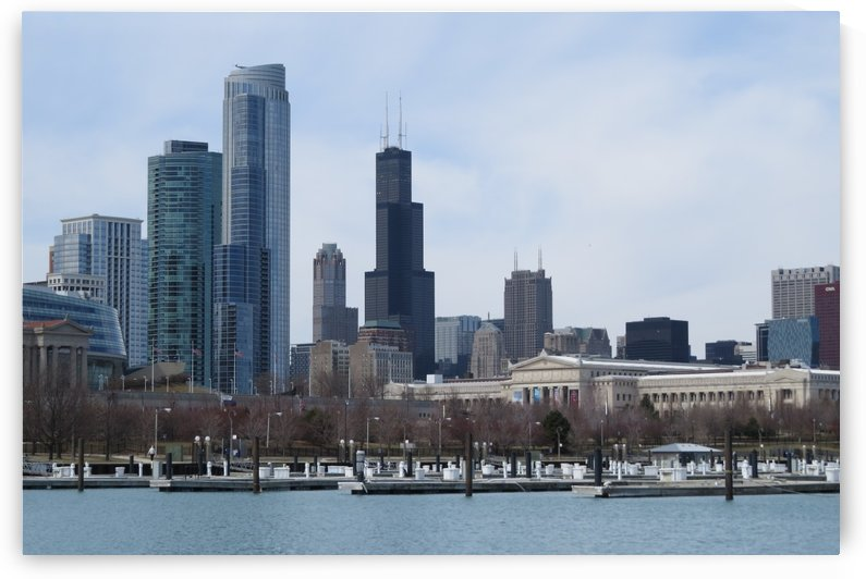 View of Chicago From Northerly Island VP2 by Vicki Polin