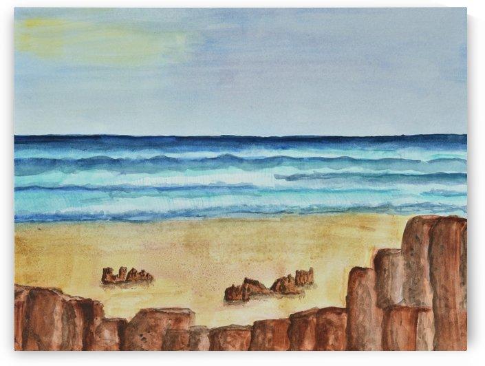 Ocean Scene by Linda Brody