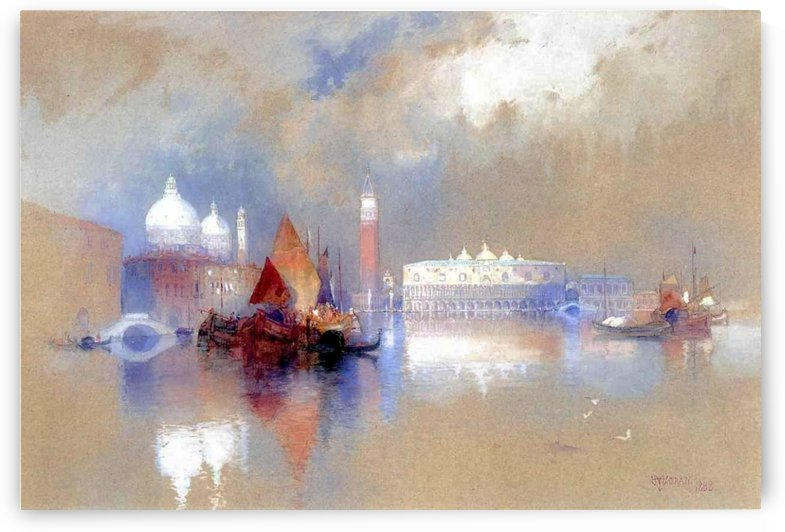View of Venice, 1888 by Thomas Moran