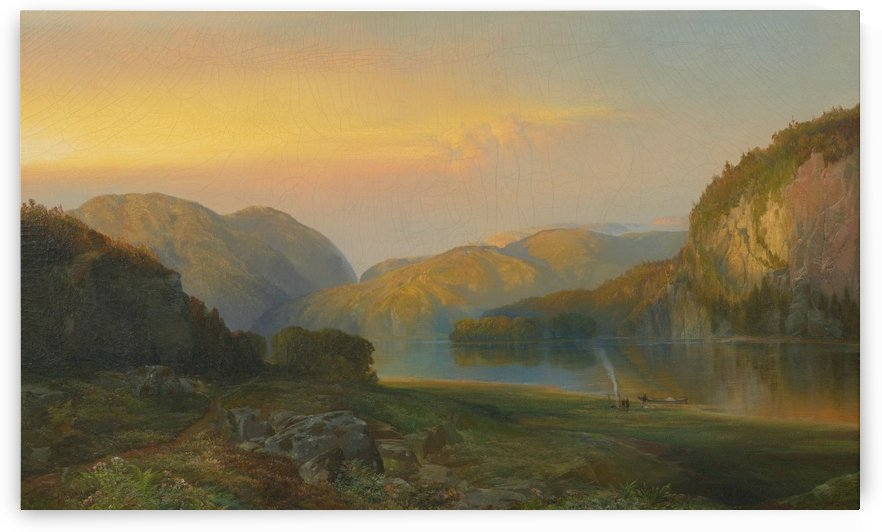 Evening on the Susquehanna River in Columbia by Thomas Moran