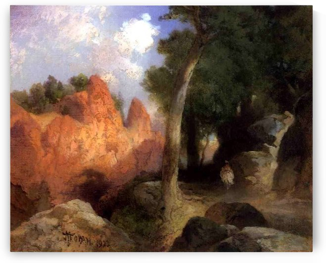 Canyon of the clouds by Thomas Moran