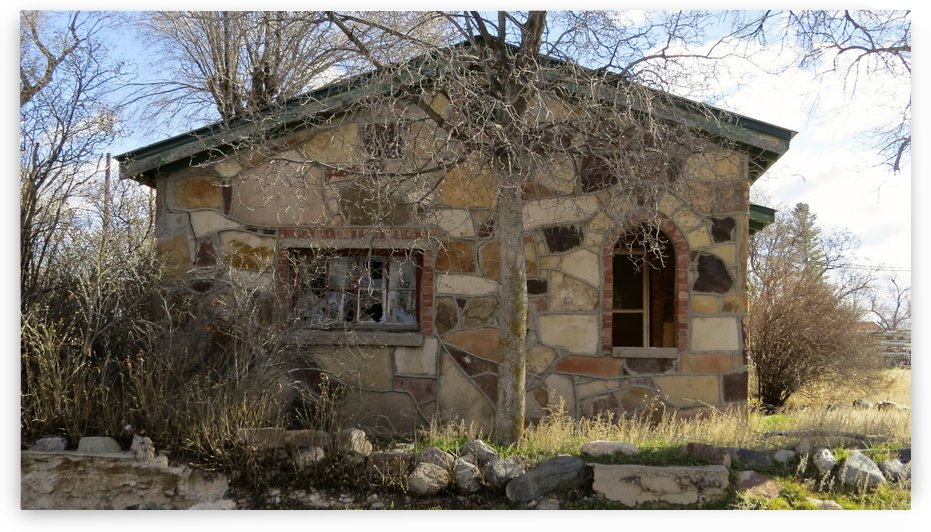 This Old House - Mountainair, NM VP10 by Vicki Polin