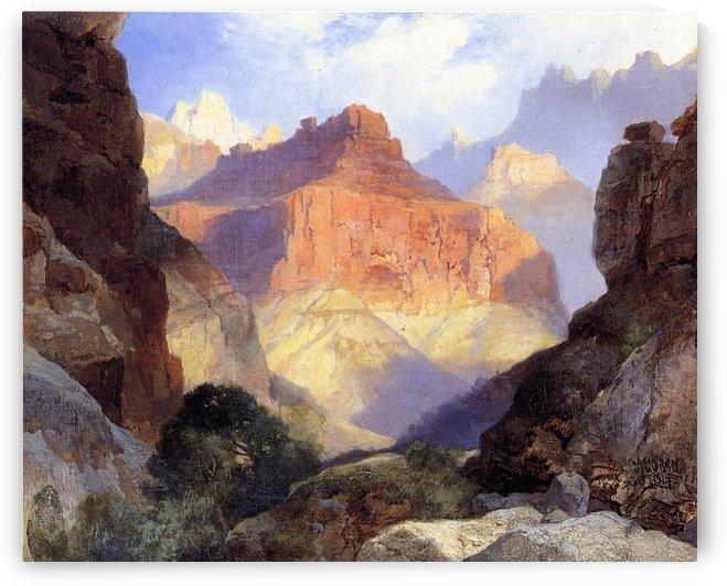 Under the Red Wall Grand Canyon of Arizona by Thomas Moran