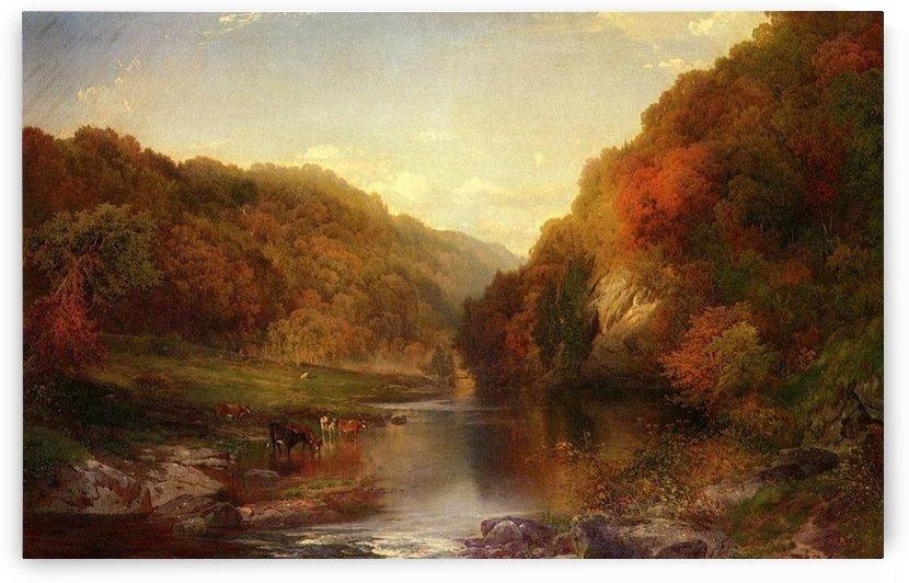 Autumn on the Wissahickon by Thomas Moran