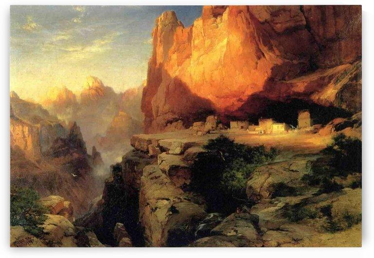 Cliff Dwellers by Thomas Moran