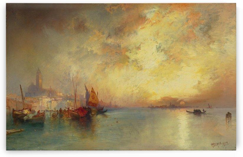 View of Venice by Thomas Moran