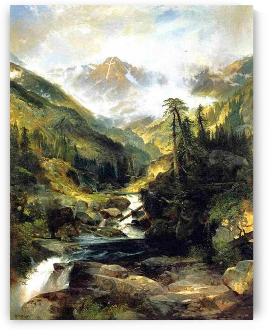 Mountain of the Holy Cross, 1875 by Thomas Moran