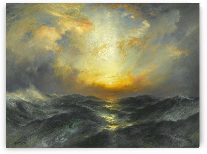 Seascape, 1906 by Thomas Moran
