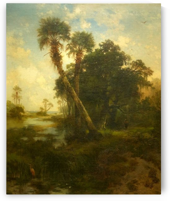 Florida Landscape by Thomas Moran