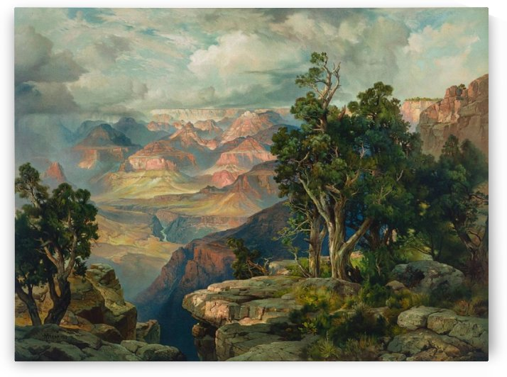 Green River Cliffs, Wyoming by Thomas Moran