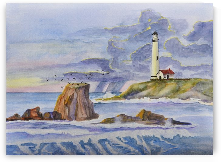 Pigeon Point Lighthouse by Linda Brody