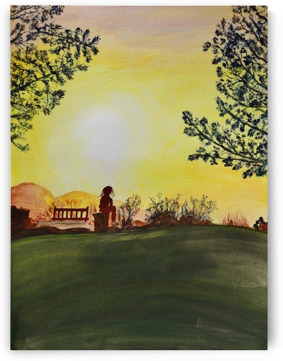 Reflection at Laurel Springs  by Linda Brody