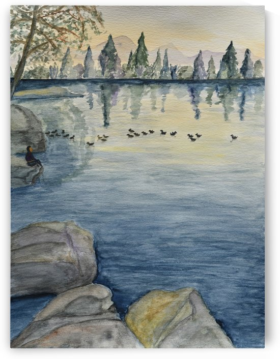 Serene Lake by Linda Brody