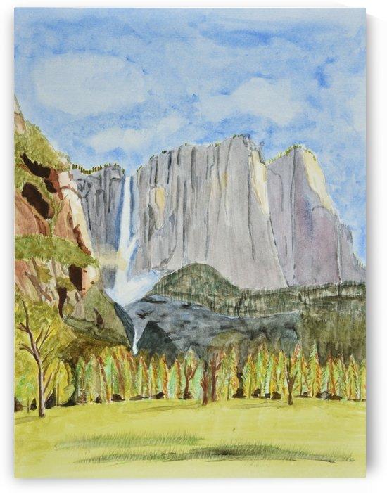 Yosemite Falls by Linda Brody