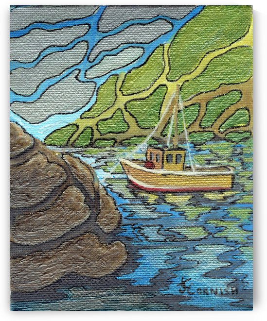 Little Harbor View by Janis Cornish