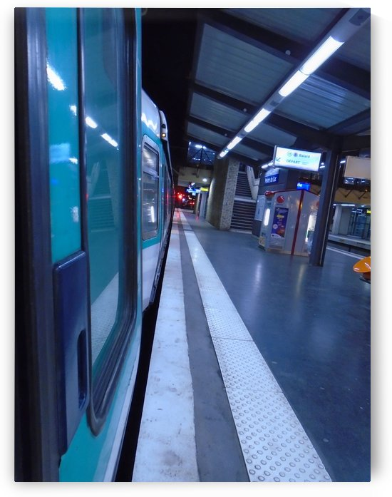 Paris metro by splash