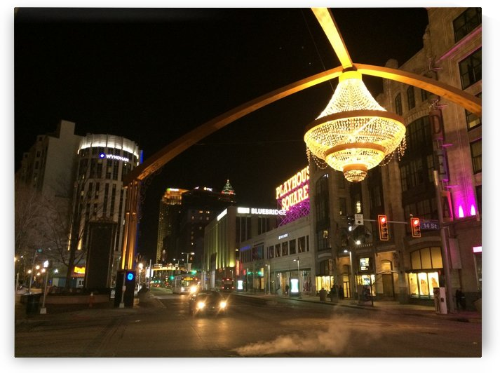 Playhouse Square by Ohio In Print