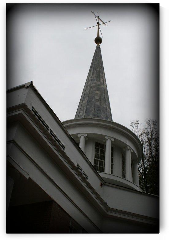 Galbreath Chapel - Black & White by Ohio In Print