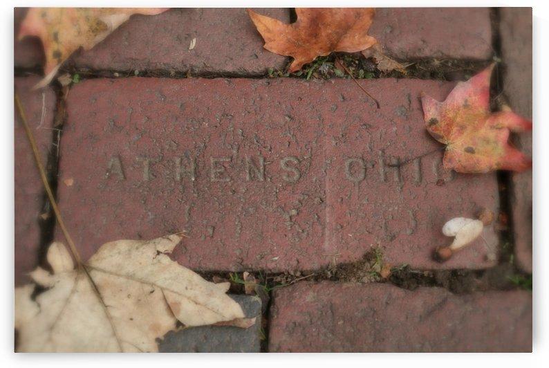 Athens Ohio Brick by Ohio In Print