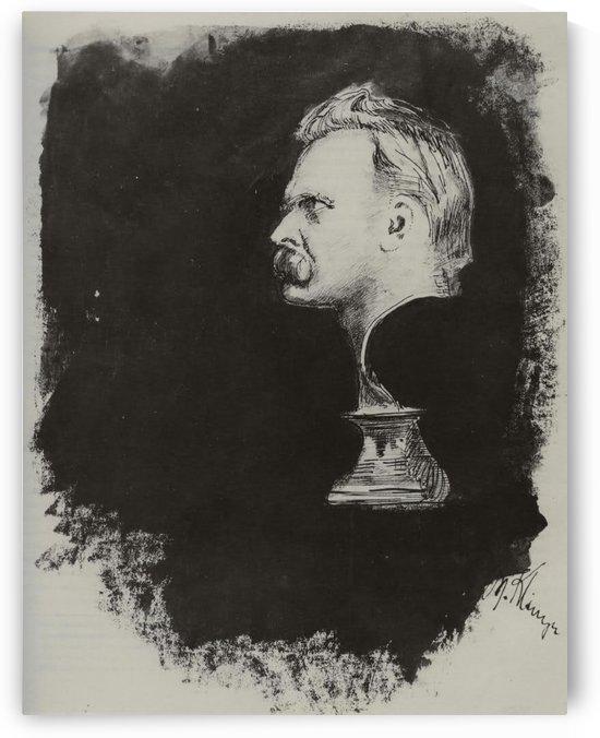 Nietzsche by Max Klinger