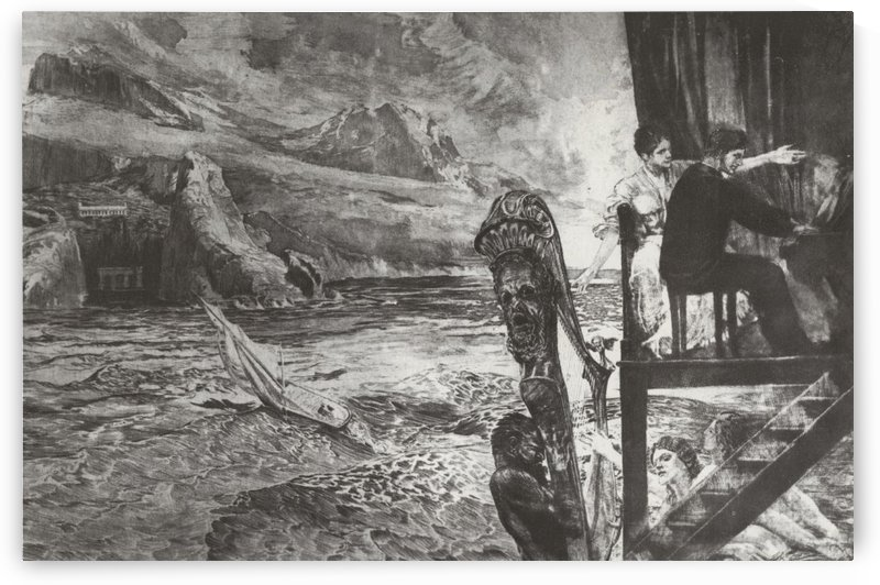 Opus XII, Agreement (1894) by Max Klinger