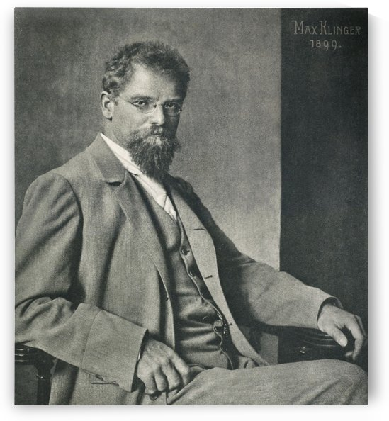 Max Klinger 1899 by Max Klinger