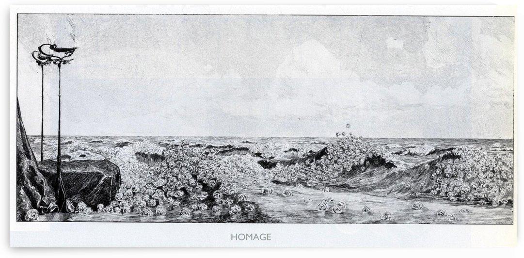 Homage by Max Klinger