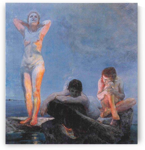 Heure bleue,1890 by Max Klinger