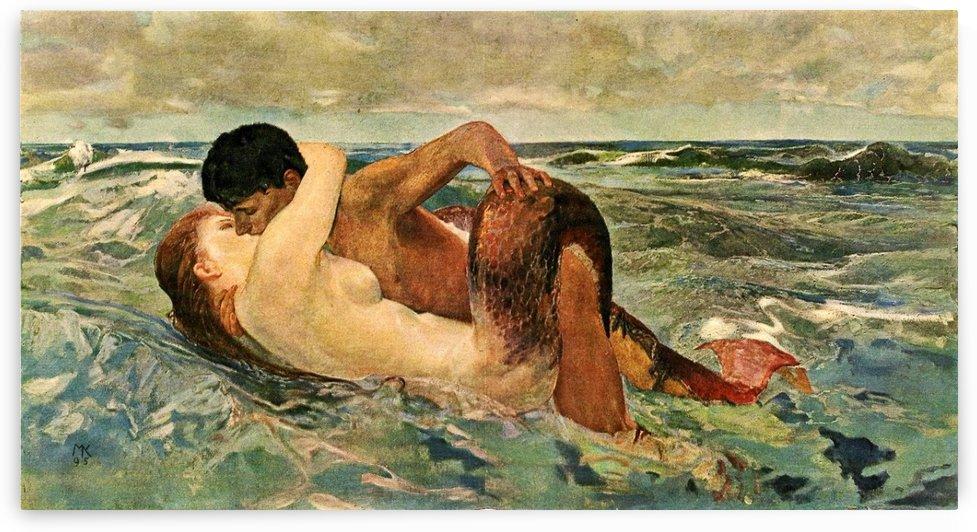 The Siren by Max Klinger