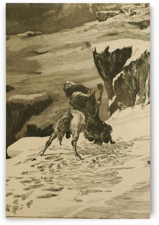 Intermezzi, Opus IV, 12 etchings (1879-1881) by Max Klinger