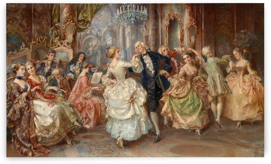 People dancing by Max Klinger