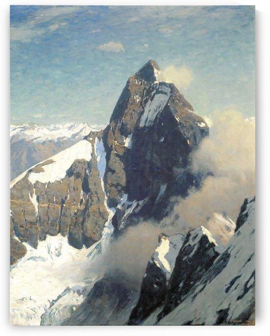 Das Matterhorn von Westen by Eugen Bracht