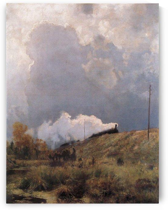 Durch die Heide by Eugen Bracht