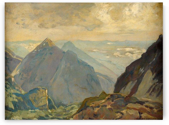 Blick von der Bocca di Brenta 1915 by Eugen Bracht