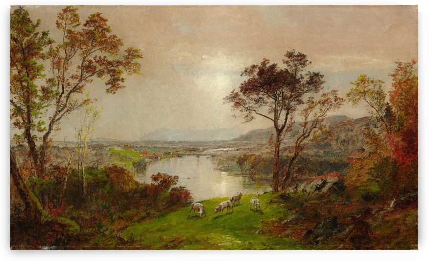 Wyoming Valley by Jasper Francis Cropsey