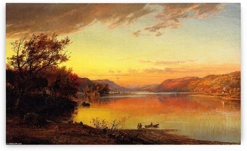 Greenwood Lake, New Jersey by Jasper Francis Cropsey