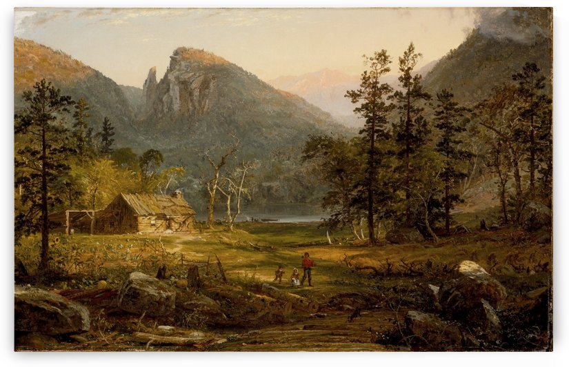 Autumn in America by Jasper Francis Cropsey