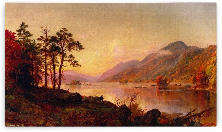 Lake George by Jasper Francis Cropsey