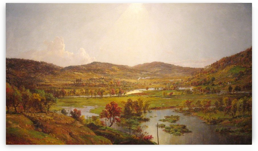 Sidney Plains by Jasper Francis Cropsey