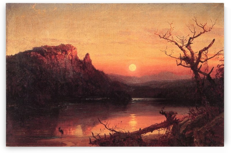 Landscapes and Autumn by Jasper Francis Cropsey