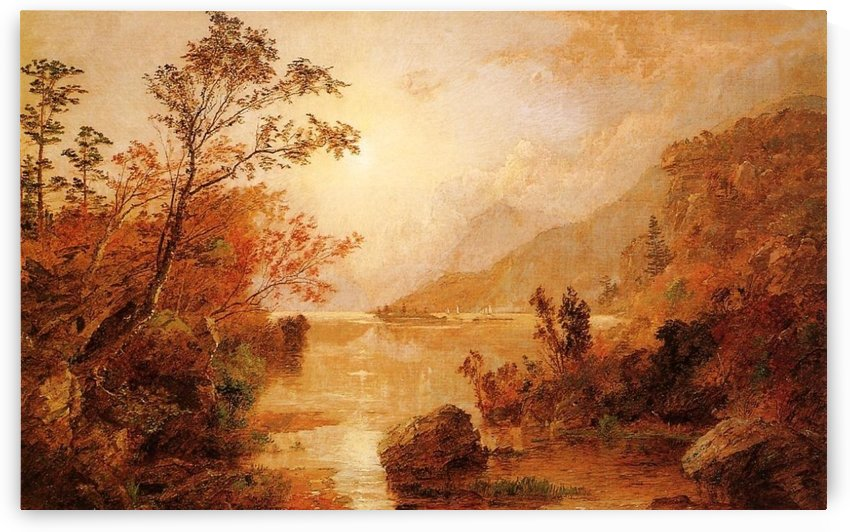 Autumn in the Highlands of the Hudson by Jasper Francis Cropsey