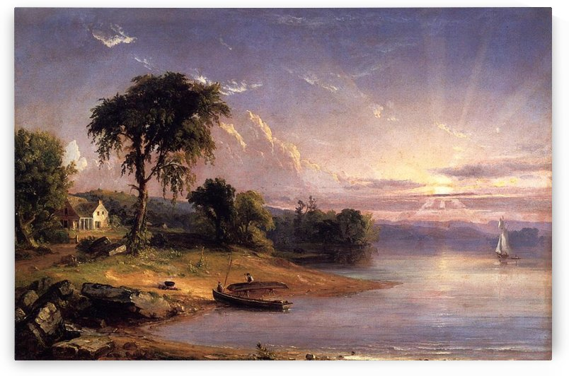 The Susquehanna River by Jasper Francis Cropsey