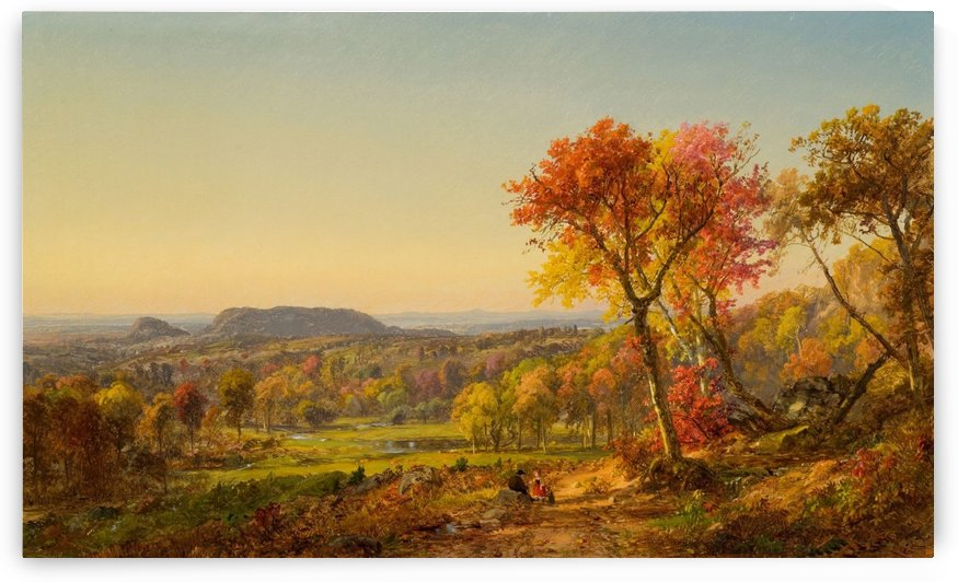 Mounts Adam and Eve by Jasper Francis Cropsey