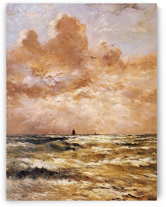 Back From Sea Sun by Hendrik Willem Mesdag