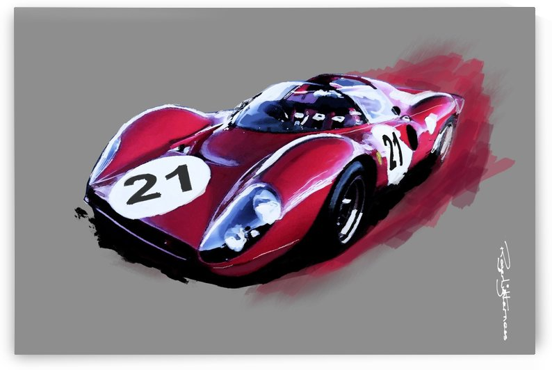 Ferrari 330P4 by Roger Lighterness