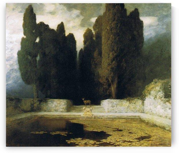 The Tomb of Arnold Bocklin by Ferdinand Keller