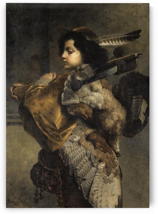 Jagender Jungling by Ferdinand Keller