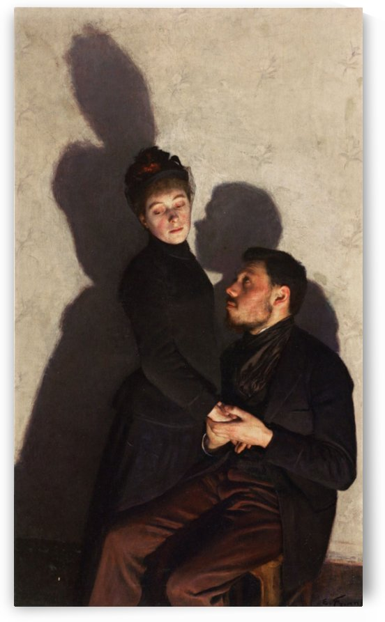 French and Lorraine by Emile Friant