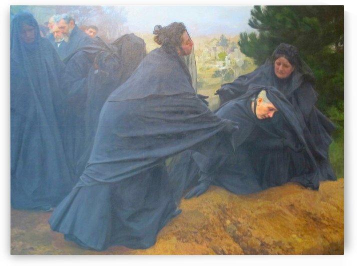 La Douleur by Emile Friant