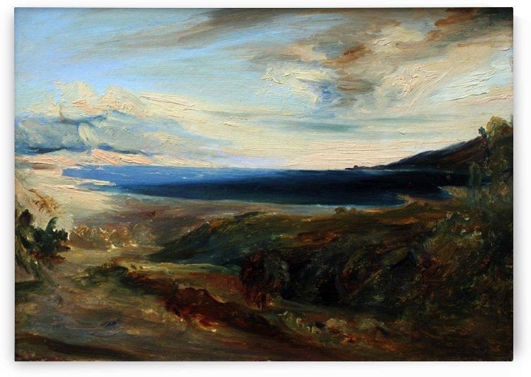 Meeresbucht in Italien by Carl Eduard Ferdinand Blechen